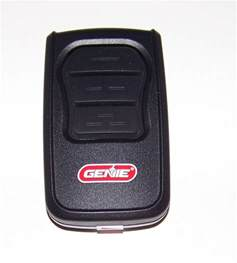 garage door opener remote how do you program a genie