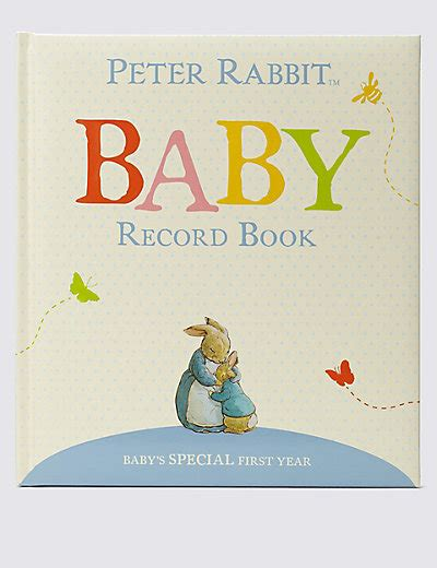 peter rabbit my first 0723267030 peter rabbit baby record book m s
