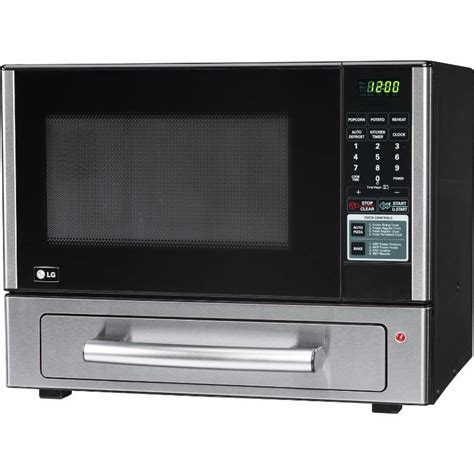 lg cabinet microwave lg lcsp1110st 1 1 cu ft counter top combo microwave and baking oven stainless steel new kx