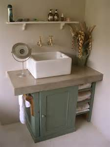 shaker style sink unit painted farrow and