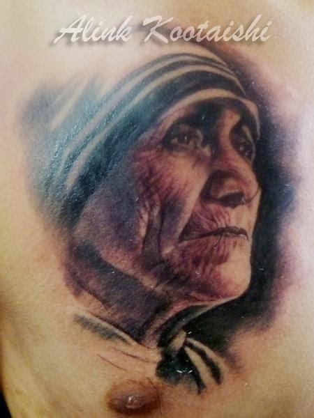 mother teresa tattoo tattoos teresa of calcutta 66653