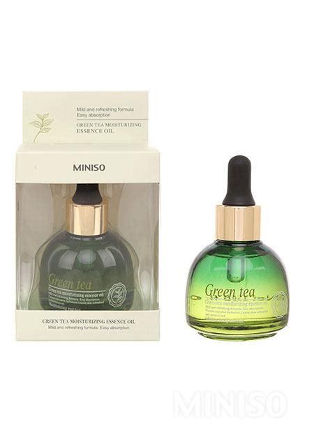Miniso Moisturizing Spray Streamer green tea moisturizing essence miniso australia