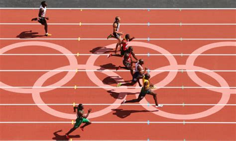 Hinomiya Beta Line Senar 100m olympic facts 10 things you didn t about the 100m sprint sport the guardian