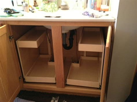 installing drawers in cabinets install pull out shelves for kitchen cabinets home