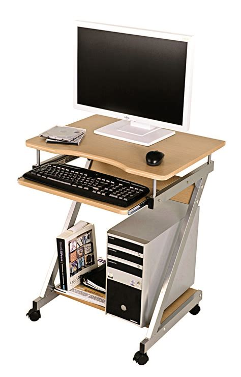 Beech Computer Desks Server Beech Computer Desk Trolley 91756
