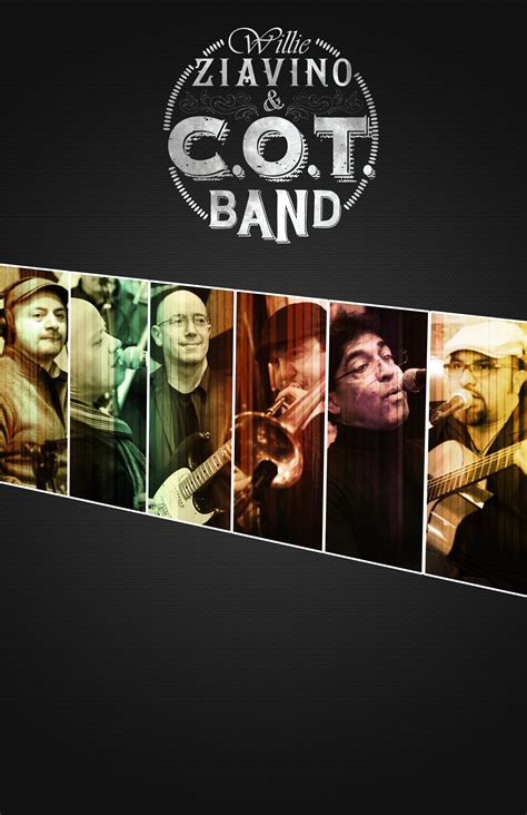 Willie Ziavino And Cot Band Logo by Photos Press Files Willie Ziavino C O T Band