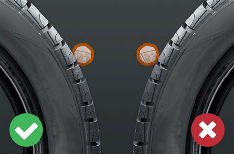tire depth tyre tread depth and tyre safety checks rac drive