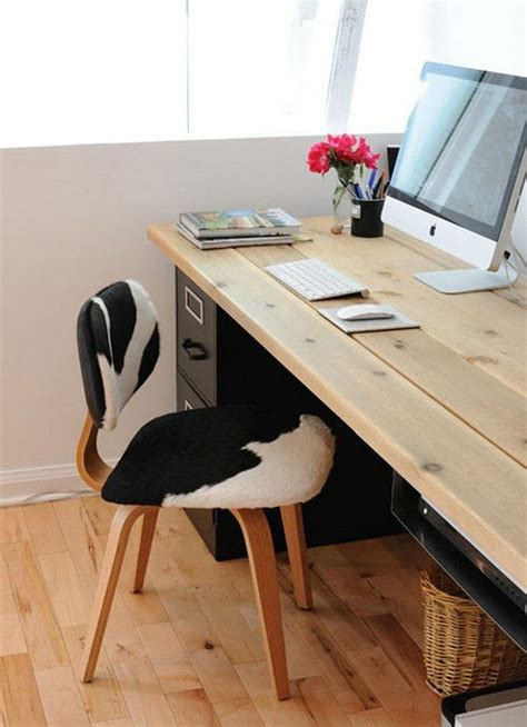 easy  build large desk ideas   home office  home office
