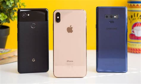 iphone xs max beats galaxy note 9 pixel 2 in tests