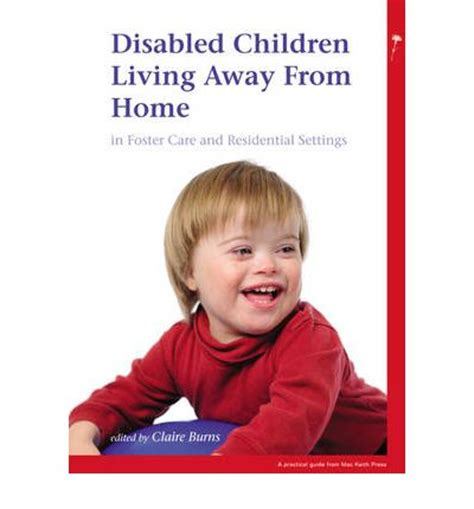 disabled children living away from home in foster care and