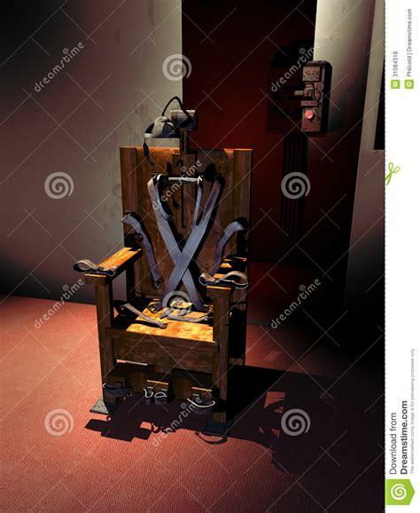 elektrischer stuhl elektrischer stuhl lizenzfreie stockfotos bild 31084318