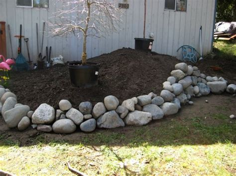 How To Build A Rock Garden Bed Building A Rock Garden Thriftyfun