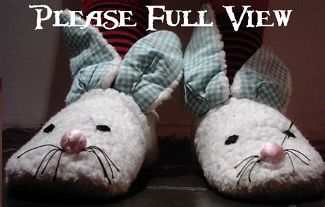 real genius bunny slippers bunny slippers by violet on deviantart