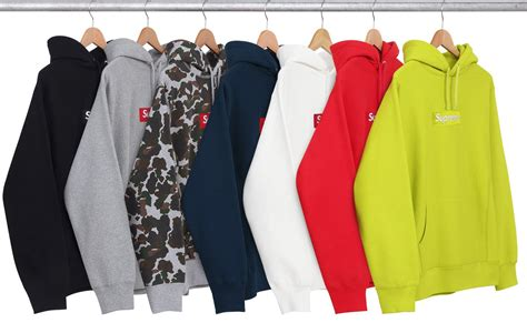 supreme clothing europe unhs union house supreme black box logo hoodie new