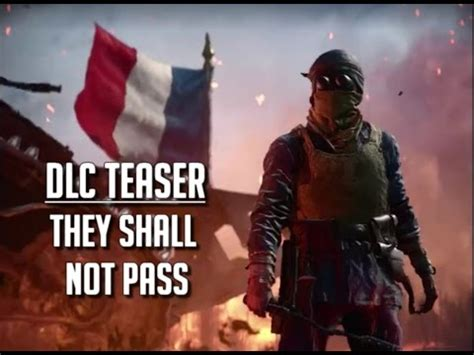 they shall not pass the army on the western front 1914 1918 books teaser they shall not pass dlc bf1 new behemoth elite
