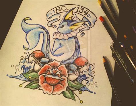 vaporeon tattoo vaporeon alert in 2018 tattoos
