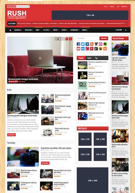 themes wordpress journal 38 best magazine news wordpress themes 2013 themes4wp