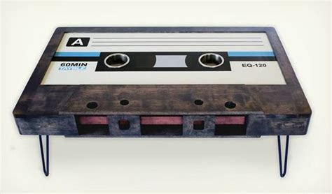 cassette coffee table cassette coffee tables cool material