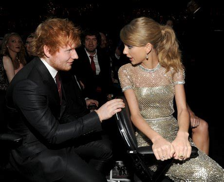ed sheeran ft taylor swift ed and taylor even sit together at big awards shows so