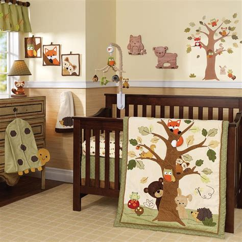 babies r us woodland bedding set kindergarten theme woodland creatures
