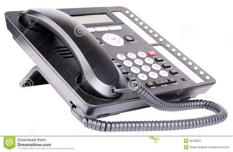 dell ufficio apparecchio telefonico dell ufficio fotografia stock