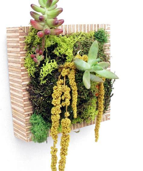 Pflanzenbild Selber Machen by Blumendekoration Lebendige Wanddekoration Aus Blumen Und