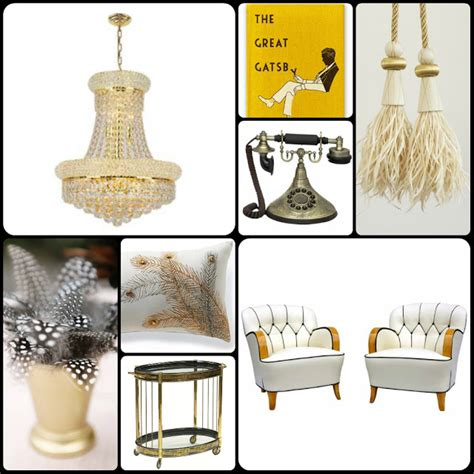 the great gatsby home decor great gatsby decor ideas on
