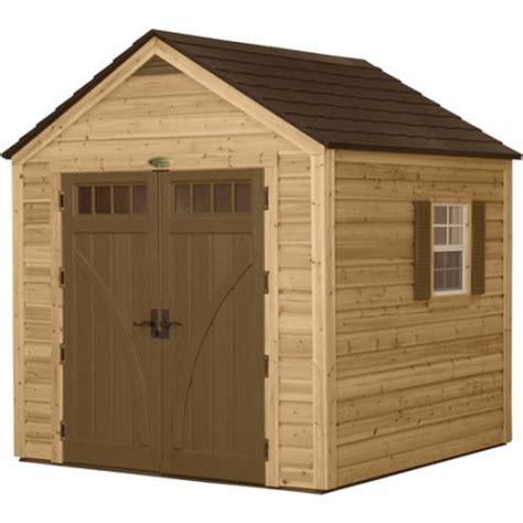 Suncast 8 X 4 Shed by Suncast 8 X 8 Wood Resin Hybrid Shed Walmart