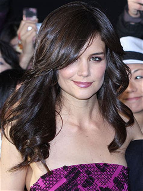 layered long bob katie holmes life style fashion katie holmes different hair styles
