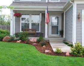 Small Front Yard Garden Ideas Townhouse Landscaping On
