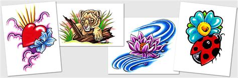 new start tattoo designs designs symbols lotus ladybug