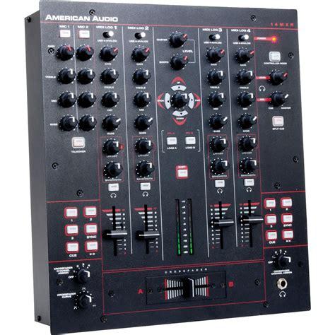 Audio Mixer American Standard american audio 14 quot mxr 4 channel midilog analog midi 14 mxr