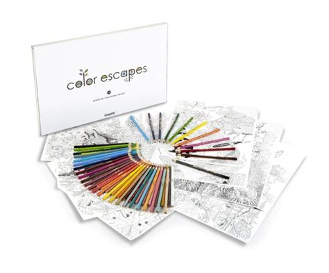 coloring book kits today only crayola color escapes coloring books