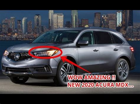 What Will The 2020 Acura Rdx Look Like by Now 2020 Acura Mdx Redesign