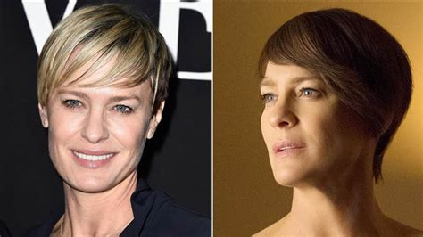 robin wright s hair color change in house of cards amy poehler s red hair and other celebrity hair color