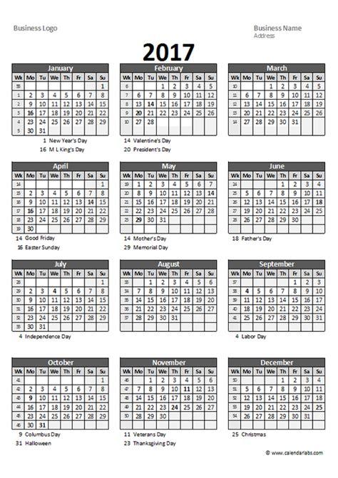 yearly spreadsheet calendar  printable templates
