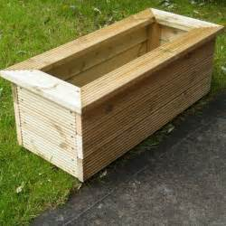 1000 ideas about wooden planters on wooden