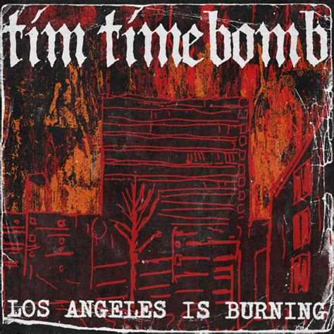 Los Angeles Burning tim timebomb covers bad religion s los angeles is burning