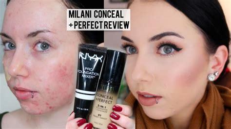 Milani Conceal Foundationconcealer 2in1 01 Vanilla new milani conceal 2 in 1 foundation