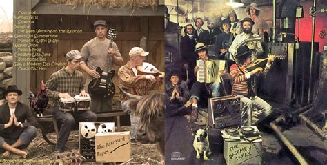 the barnyard tapes the basement tapes and bob dylan s