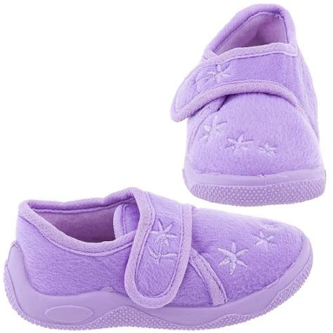 best toddler slippers chatties lilac floral toddler slippers for cheap