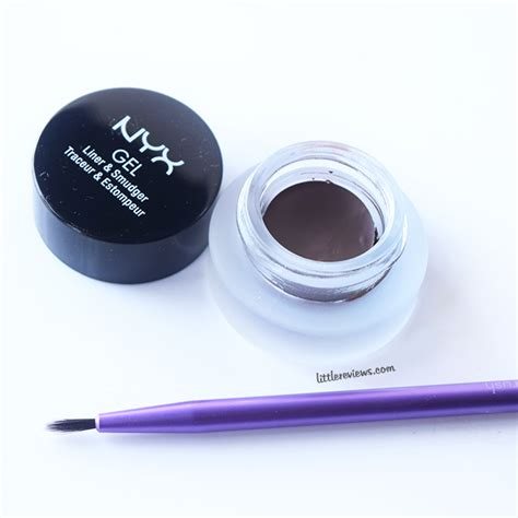 Nyx Gel Liner nyx gel liner and smudger review reviews