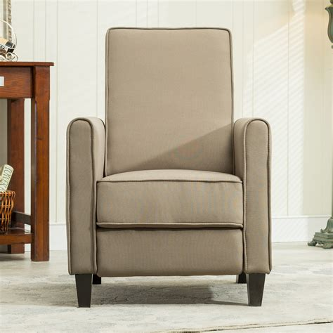 living room club chairs recliner club chair living room home modern design recline fabric gray beige ebay