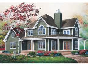 Farmhouse House Plans With Wrap Around Porch by Manning Country Farmhouse Plan 032d 0599 House Plans And