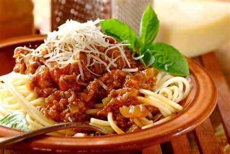 pasta recepies spaghetti bolognese recipe dishmaps