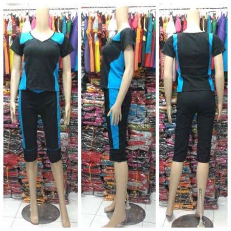 Celana Ukuran Besar Celana Big Size Jumbo Biru Dongker baju senam ukuran besar baju senam murah grosir dan eceran