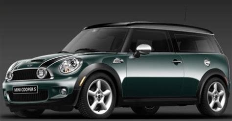 Pita Jepit Mini Green Stripes my car mini cooper clubman in racing green