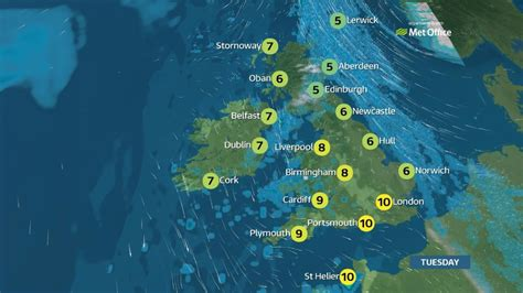 Showers Weather by Weather Mostly Cloudy With Some And Showers Itv News