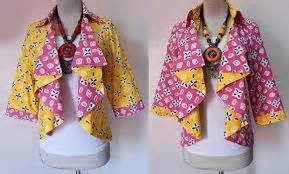 Blolero Batik Tulis F20216092 Cardigan Muslim Rompi Panjang Jumbo cardigan batik bolero zifara jumputan 02 baju kerja batik
