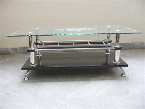 stylish table stylish center table glass top used furniture for sale